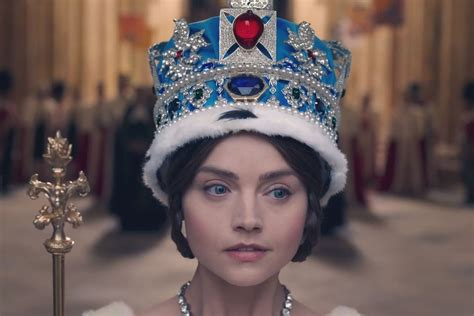 Victoria, ITV: see Jenna Coleman in costume as the young
