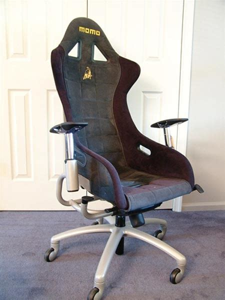 RaceChairs: Sports Car Seats For The Cubicle - Geekologie