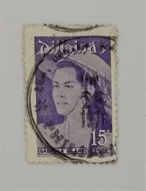 PILIPINAS STAMPS GABRIELA SILANG – Rare / old Stamps