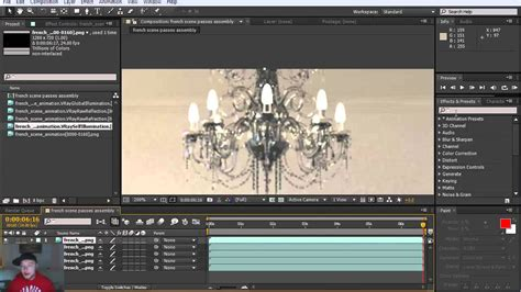 07 Passes Combination with After Effects - YouTube