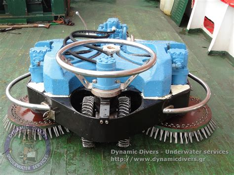 Hull cleaning equipment - Dynamic Divers - Underwater Services