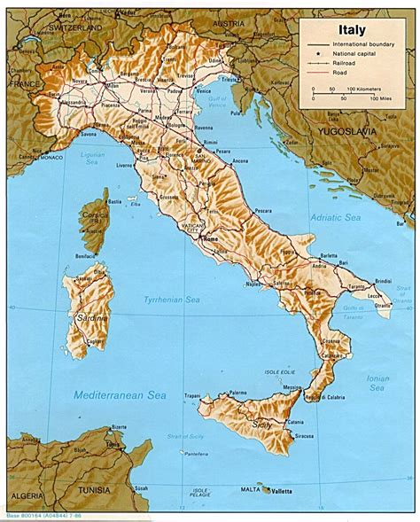 italy Map and italy Satellite Images