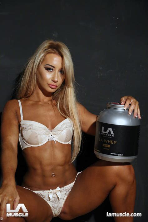 Tanya Naghten Fitness Photos exclusive to LA Muscle