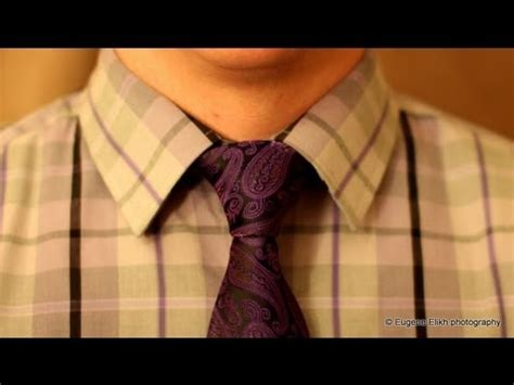 How to tie a tie - made simple (Half - Windsor Knot) - YouTube