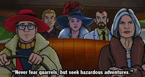 Literary Quotes Mashed Up With Archer | Quirk Books