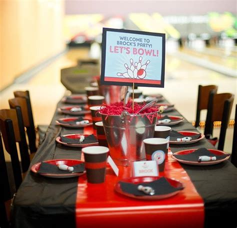 Kara's Party Ideas Bowling Birthday Party Planning Ideas