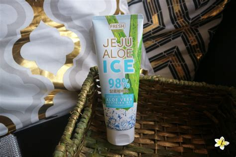 Fresh Skinlab Jeju Aloe Ice Review - The Modern Pinay's