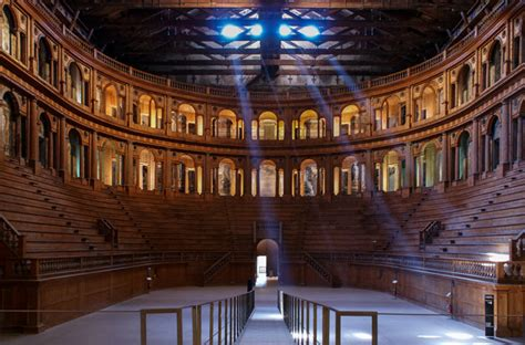 Parma's indissoluble bond with music: Teatro Farnese