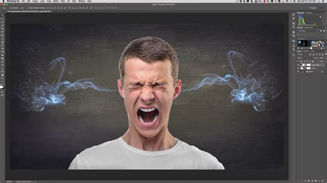 Photoshop Quick Tips – Episode 11: Smoke Coming Out of Ears