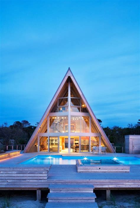 A-Frame Beach House Reinvents An Iconic 1960s Design