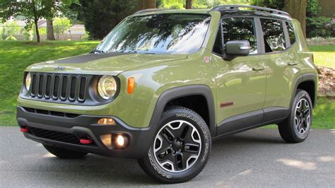2015 Jeep Renegade Trailhawk Start Up, Road Test, and In