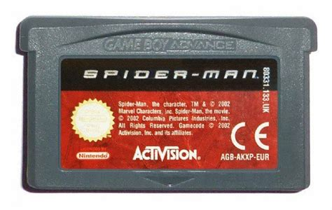 Spider-man ⭐ Gameboy Advance [GBA] Game [PAL