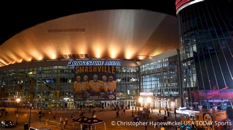 Welcome To Smashville: An Inside Look At Bridgestone Arena