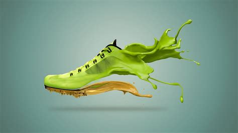 How to make Shoe Paint Splash in Photoshop CC - YouTube