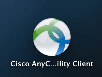 How do I install the Cisco AnyConnect Client on OS X