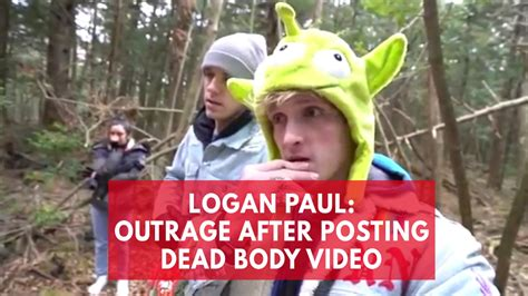 YouTube star Logan Paul under fire for 'we found a dead