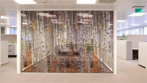 Partitions – Glamitec AS – Digital printing on glass